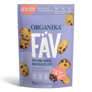 FaV Keto Mini Cookies - Chocolate Chip- Code#: SN2004