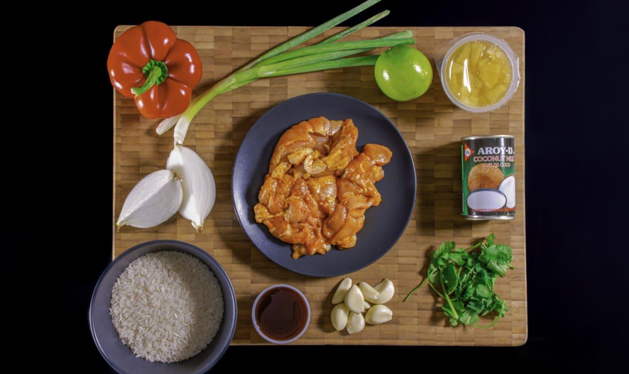 Gluten Free Thai Coconut and Pineapple Chicken