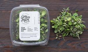 Local Organic Salad Greens, Main Street Mix - Micro Blend- Code#: PR216919LCO