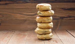 Banana Walnut Bagels- Code#: BR096