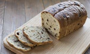 Raisin Bread, Whole Wheat- Code#: BR136