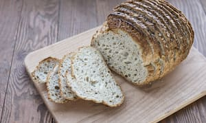 Peasant Farmer Multigrain Bread Sliced - Yeast, Sugar & Fat Free- Code#: BR184