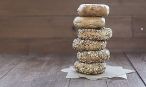 Assorted Savory Bagels- Code#: BR215