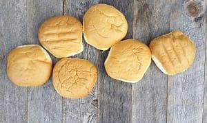 Soft Hamburger Buns- Code#: BR8080