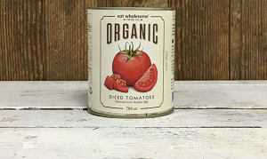 Organic Diced Tomatoes- Code#: BU0049