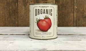 Organic Whole Tomatoes- Code#: BU0050