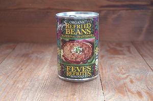 Organic Traditional Refried Beans - BPA Free- Code#: BU0107
