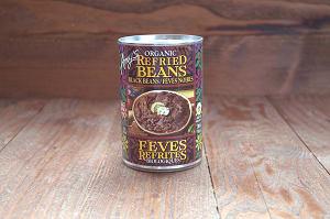 Organic Refried Black Beans - BPA Free- Code#: BU0108