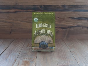 Organic Long Grain Brown Rice- Code#: BU902