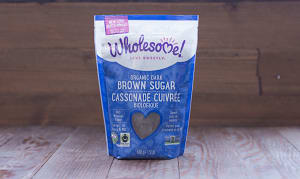 Organic Fair Trade Dark Brown Sugar- Code#: BU907