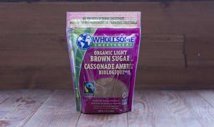Organic Fair Trade Light Brown Sugar- Code#: BU908