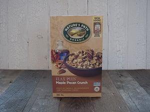 Organic Flax Plus Maple Pecan Crunch- Code#: CE015