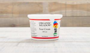 Organic Sour Cream - 14% MF- Code#: DA3521