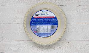 Organic Traditional Pie Shells (Frozen)- Code#: DE0122
