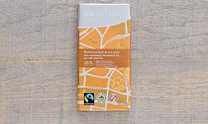 Organic Butterscotch & Sea Salt Chocolate Bar- Code#: DE0390