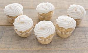 Gluten Free Vegan Coconut Cup Cake- Code#: DE0439
