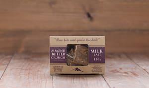 Milk Chocolate Almond Butter Crunch- Code#: DE070