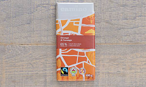 Organic Orange Chocolate Bar- Code#: DE115