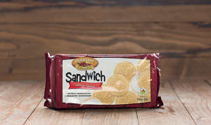 Organic Vanilla Sandilla Sandwich Cremes- Code#: DE360