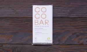 COCONAMA Salted Caramel Milk Chocolate Bar- Code#: DE943