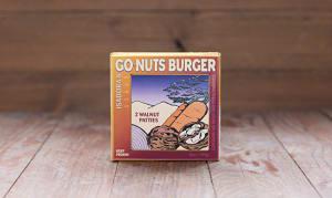 Go-Nuts Veggie Burgers (Frozen)- Code#: DN108