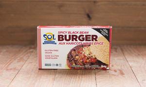 Black Bean Burger (Frozen)- Code#: DN539
