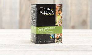 Organic Coconut Ginger Green Tea- Code#: DR0337