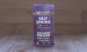 Organic Village Trade Dark Coffee, Ground- Code#: DR135