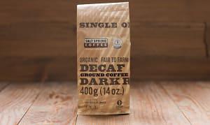 Organic Decaf Dark Coffee, Ground- Code#: DR139