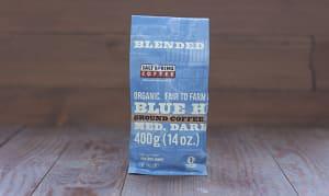 Organic Blue Heron 3/4 Medium, 1/4 Dark Coffee, Ground- Code#: DR159