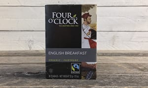 Organic Four O'Clock English Breakfast Black Tea- Code#: DR233