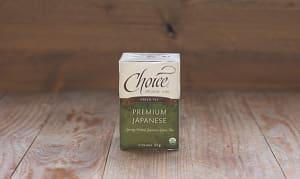 Organic Japanese Green Tea- Code#: DR238