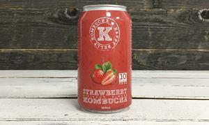 Organic Strawberry Hibiscus Ginger Kombucha- Code#: DR3148