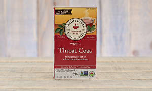Organic Throat Coat Tea- Code#: DR925