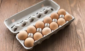 Organic Eggs of the Week - Large- Code#: EG600