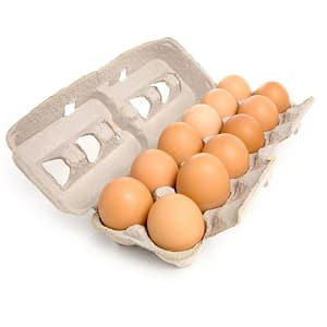 Organic Eggs of the Week - Medium- Code#: EG650