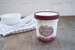 Organic Salted Caramel & Chocolate Coconut Milk Dessert (Frozen)- Code#: FD202