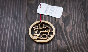 Christmas Ornament - Five Gold Rings- Code#: HH1664