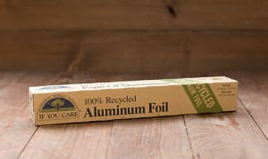 100% Recycled Aluminum Foil- Code#: HH3200