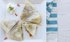 Quick Quesadilla Dinner (Frozen)- Code#: KIT1405