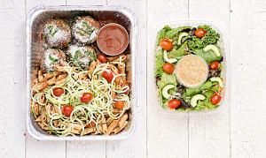 Italian Meatball Pasta & Salad- Code#: LLK106