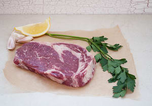 100% Grass-Fed Rib Steak - LIMITED AVAILABILITY (Frozen)- Code#: MP1003