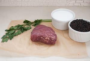 100% Grass-Fed Eye of Round Steak - LIMITED AVAILABILITY (Frozen)- Code#: MP1011