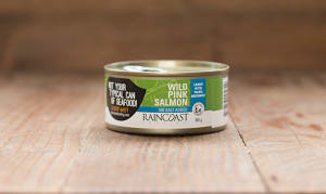 Canned Wild Pink Salmon - NO SALT ADDED- Code#: MP118