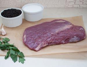 Canadian Rangeland Bison Flank Steak (Frozen)- Code#: MP822