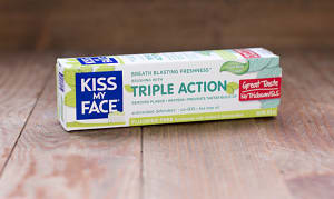 Triple Action Fluoride Free Cool Mint Gel- Code#: PC1220