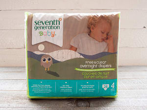 Overnight Diapers (Stage 4) 10-17 kg, 22-37 lbs- Code#: PC667