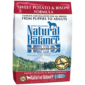 Limited Ingredient Diet - Bison & Sweet Potato Dog Formula- Code#: PD028