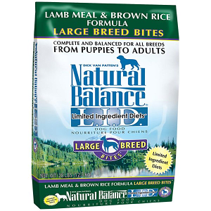 Limited Ingredient Diet - Lamb & Brown Rice Formula for Large Breeds- Code#: PD029