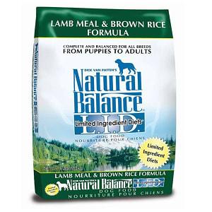 Limited Ingredient Diet - Lamb & Brown Rice Dog Formula- Code#: PD034